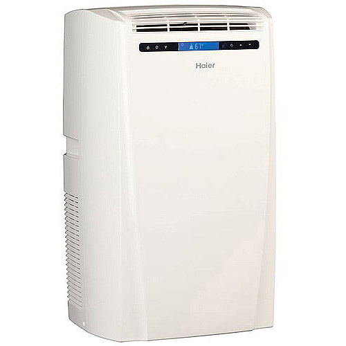 Haier HPD10XCMLW 10000BTU Room Portable Air Conditioner Walmartcom