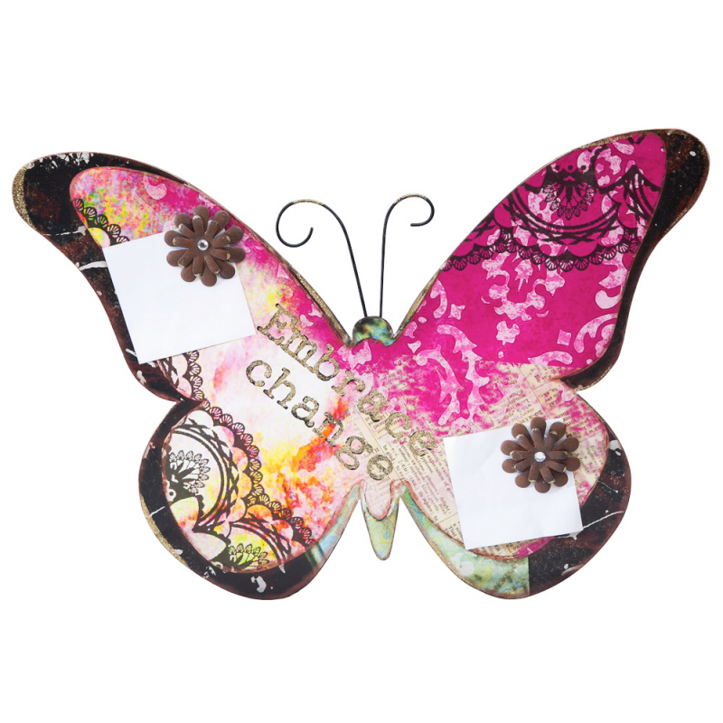 Cypress Home Spring Inspirations Butterfly Memo Board