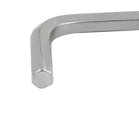 Tasharina 5/32-inch CR-V Steel Long Arm Ball End Point Hex Key L-Wrench 103mm Length 4 Pcs - image 2 de 4