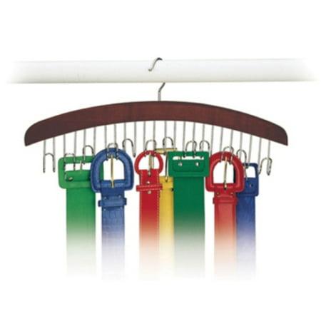 Richards Homewares Closet Accessories 12 Belt Hardwood Hanger