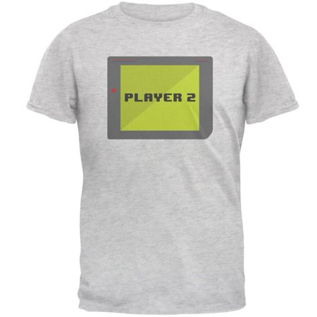 Female Football Player Halloween (Halloween Old School Gamer Player 2 Mens T)