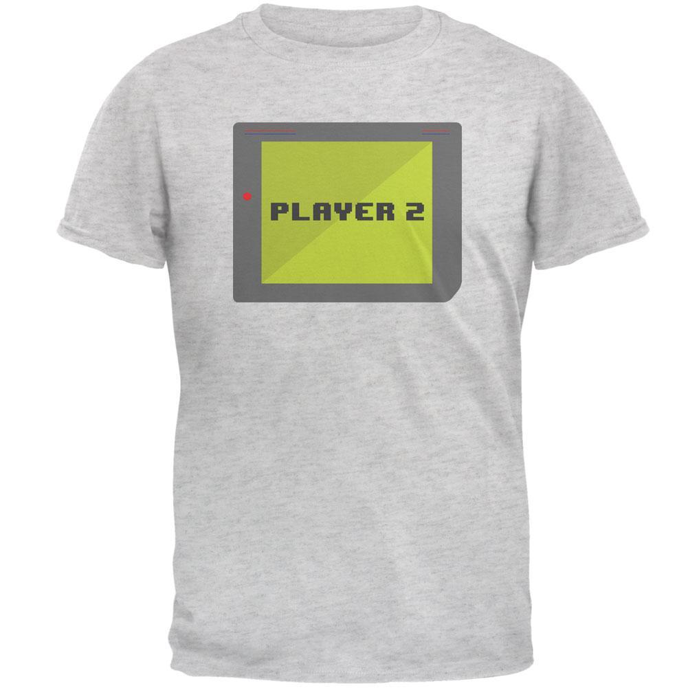 Halloween Old School Gamer Player 2 Mens T Shirt