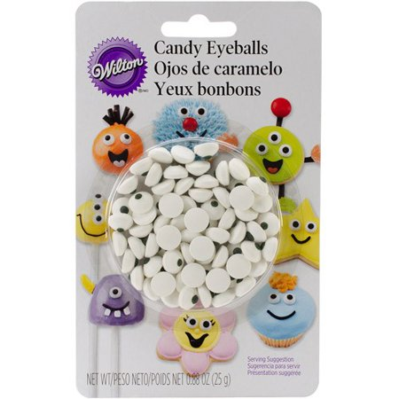 Eyeball Mirror - (3 Pack) Wilton Candy Eyeballs, Small