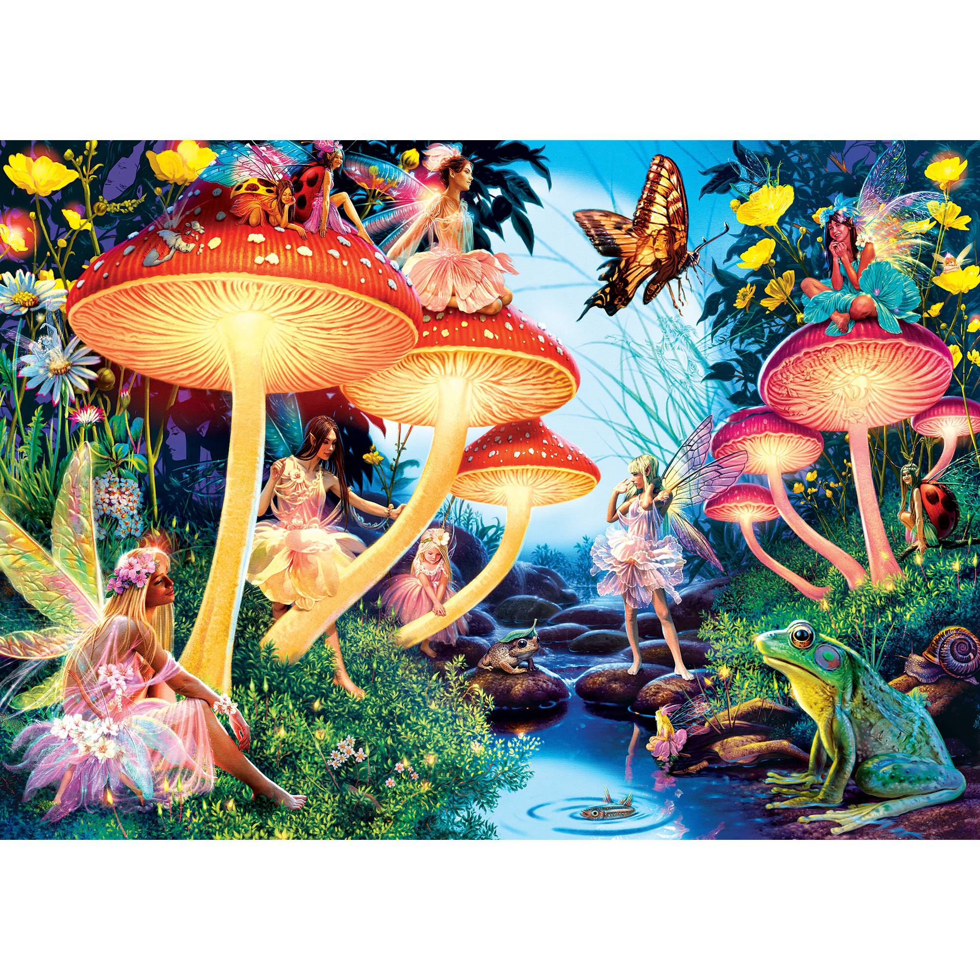 MasterPieces Toadstool Brook 500 Piece Jigsaw Puzzle
