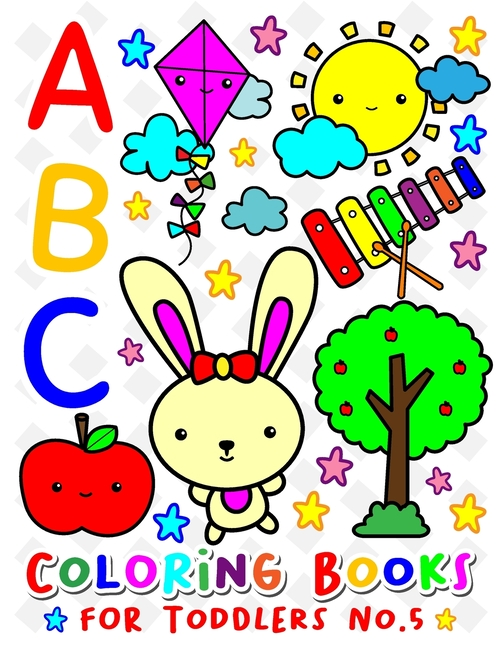 - ABC Animal Coloring Book: ABC Coloring Books For TODDLERS No.5 : Alphabet Coloring  Books For Kids