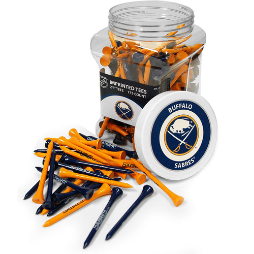 Team Golf NHL Buffalo Sabres Jar Of 175 Golf Tees
