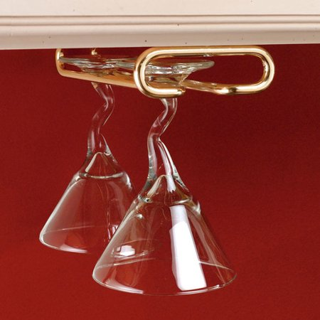 - Rev-A-Shelf Hanging Wine Glass Rack