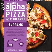 Alpha Foods Supreme Pizza, Vegan, Non GMO, 6 oz