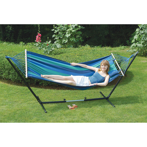 Stansport Double Hammock Stand Combo by Stansport