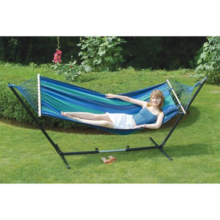 Stansport Double Hammock/Stand Combo - Stansport Double Hammock/Stand Combo - Walmart.com