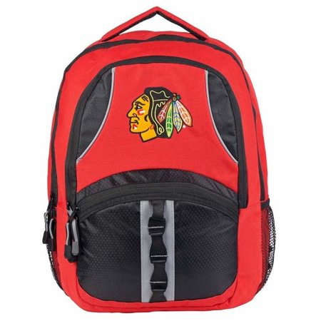 "- NHL Chicago Blackhawks ""Captain"" 18.5""H x 8""L x 13""W Backpack"