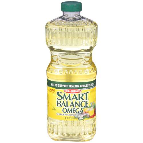 Smart Balance: Omega Natural Blend Of Canola, Soy & Olive Oils Oil, 48 Fl Oz