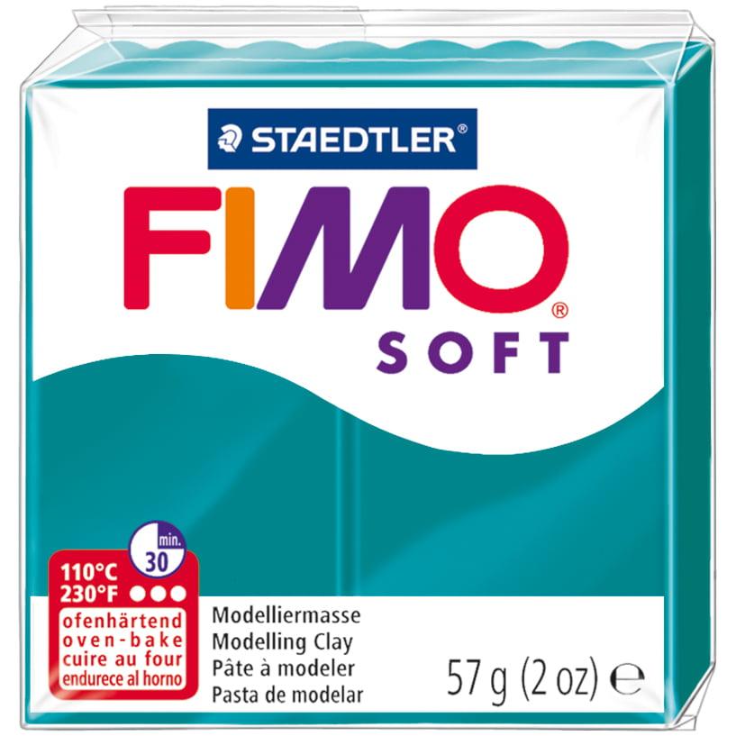 Fimo Soft Polymer Clay 2Oz-Petrol