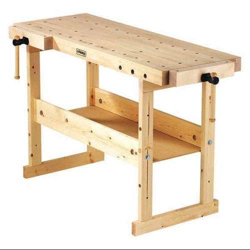 SJOBERGS SJO-33448 Workbench,33 in. Hx24 in. W,Natural G0697956