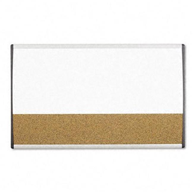 Quartet ARCCB3018 Magnetic Dry Erase/Cork Board Painted Steel 18 x ...