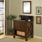 Direct Vanity Sink Xtraordinary Spa Premium 32S1 32 in. Single Bathroom Vanity