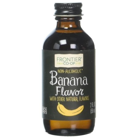 Banana Flavor, 2 OZ, Add a tropical flair by drizzling into chocolate sauces, fruit smoothies and milk shakes or add to waffles, pancake or French toast.., By Frontier