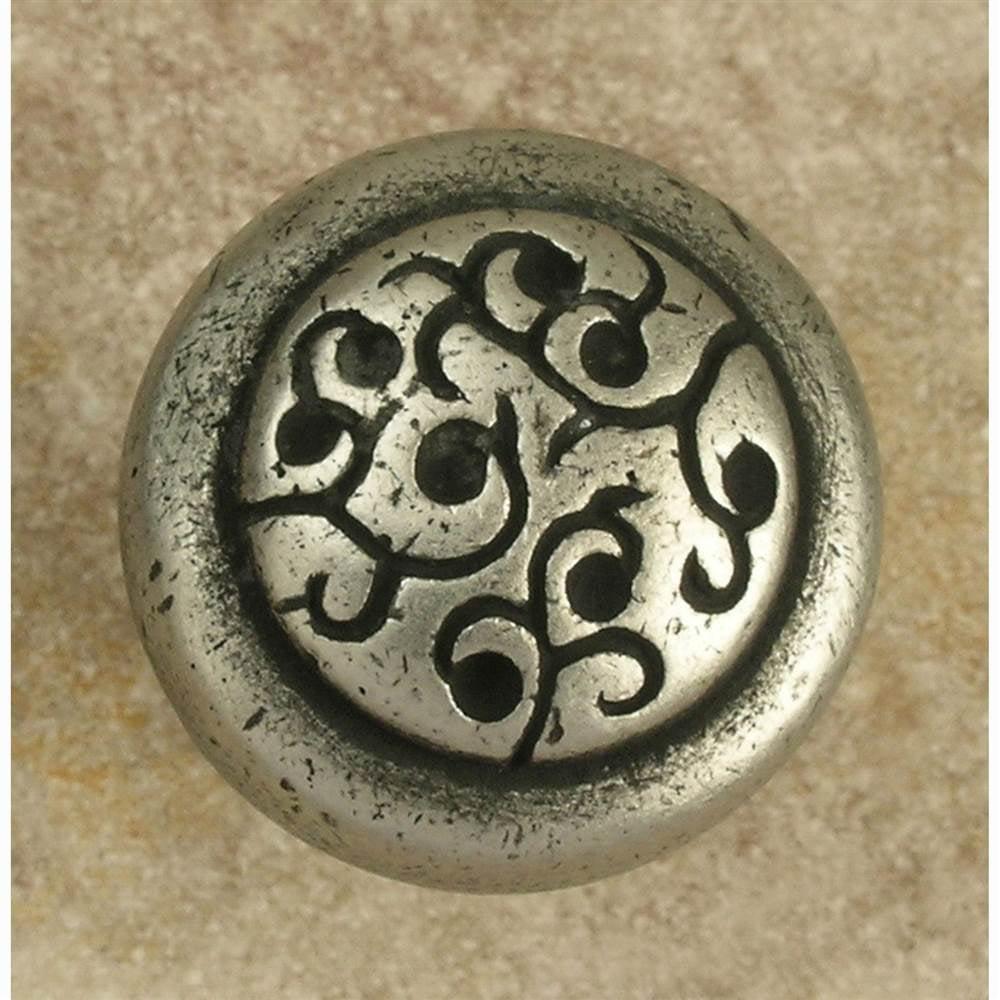 Petite Sasha  knob (Set of 10) (Antique Bronze)
