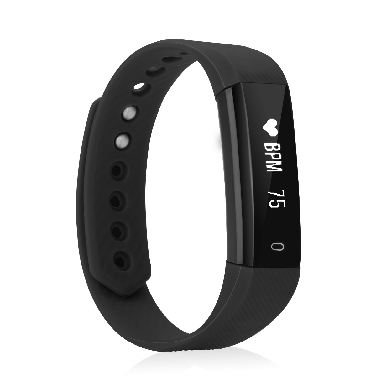 Diggro ID115HR Fitness Tracker Bluetooth 4.0 Pedometer Calorie Sleep Monitor Call/SMS Reminder Sedentary Reminder for Android IOS