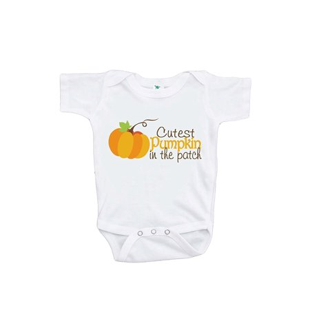 Custom Party Shop Baby's Cutest Pumpkin In The Patch Thanksgiving Onepiece - 3-6 Month - Cutest Costumes