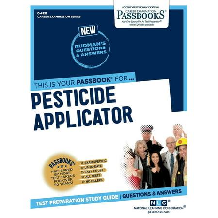 Pesticide Applicator (Paperback) (Applicator Covers)