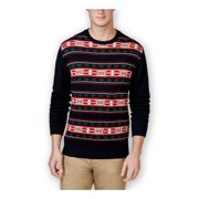 Weatherproof Mens Vintage Fair Isle Shawl Sweater
