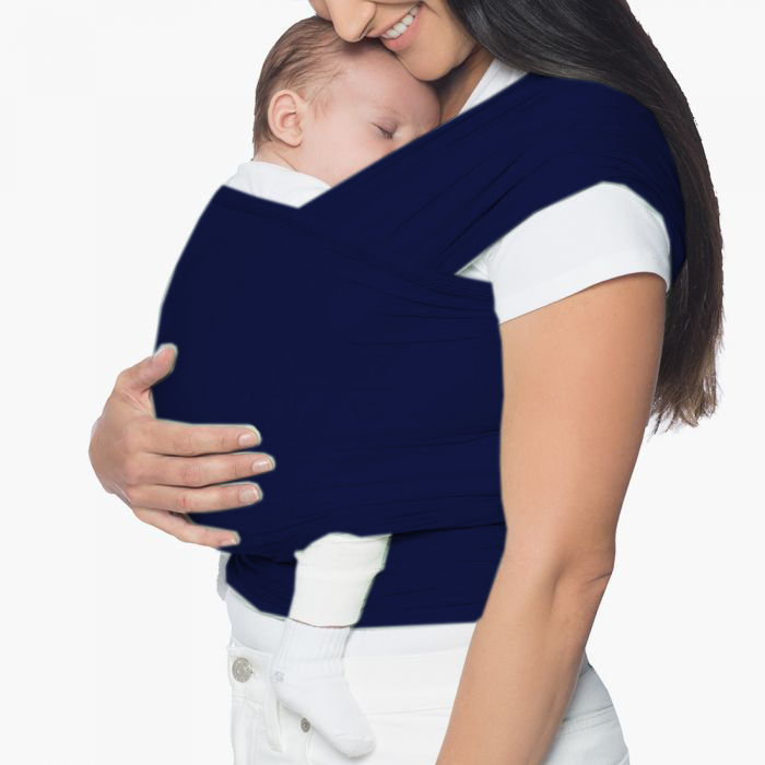 Breathable baby carrier baby wrap  soft cotton baby carriers wraps and slings nursing Cover Great Gift for baby -Blue color