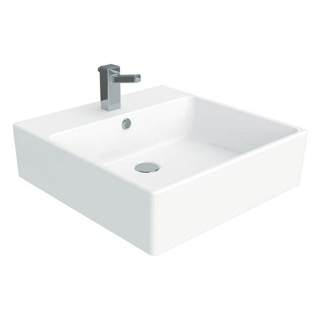 WS Bath Collections Simple 50.50A Wall Mount Vessel