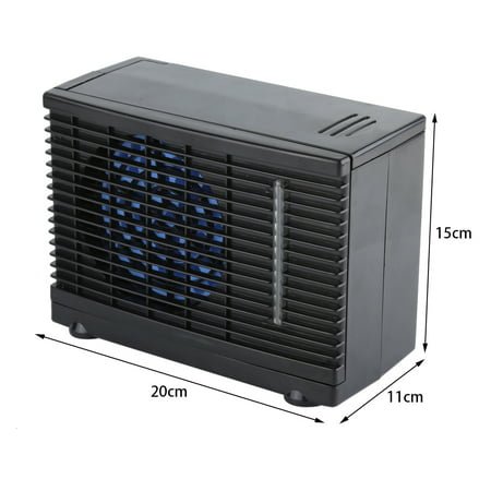 Dilwe Portable 12V Car Truck Home Mini Air Conditioner Evaporative Water Cooler Cooling Fan , Evaporative Air Conditioner,Car Conditioner