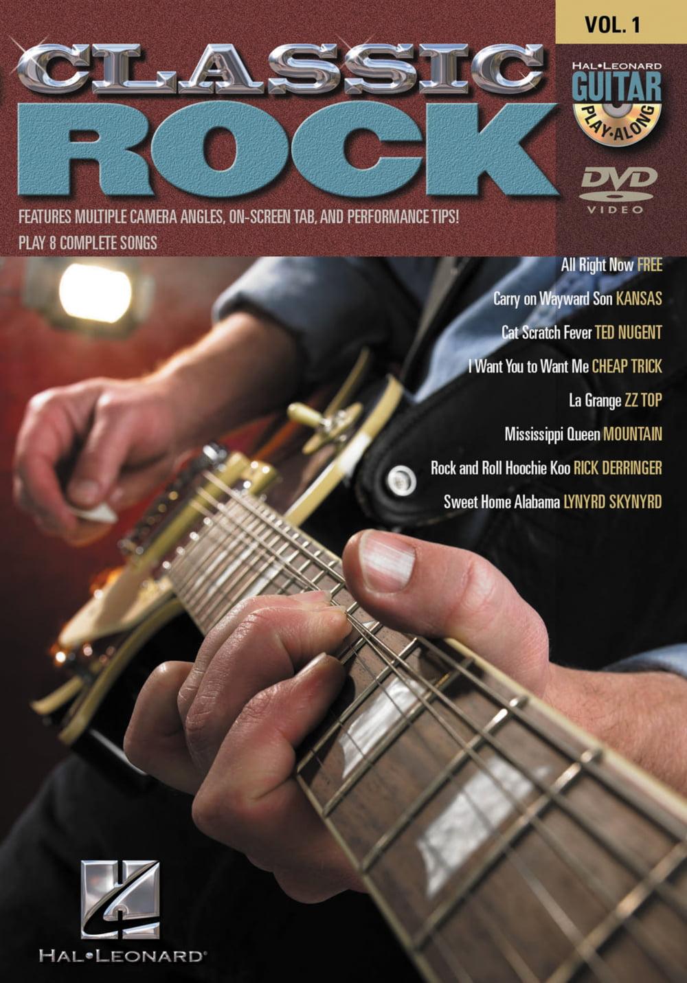 Hal Leonard Classic Rock Guitar Play-Along DVD Series Volume 1 by Hal Leonard Corporation