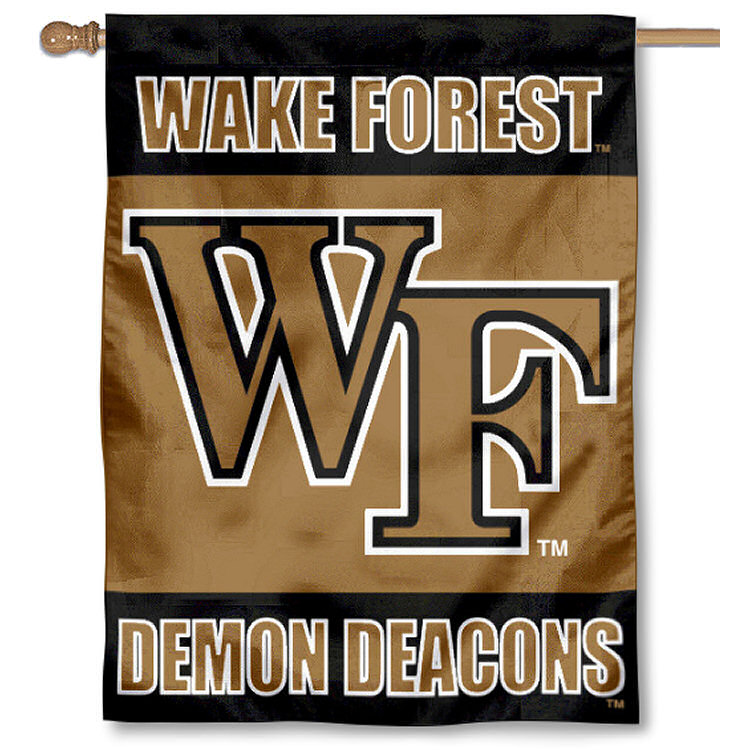 "Wake Forest Demon Deacons 30"" x 40"" Two Sided House Flag"