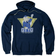 Airplane! Funny Comedy 1980's Movie Otto the Autopilot Adult Pull-Over Hoodie