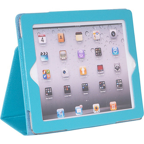 Sumdex Apple iPad 2 & the New iPad Generation Leatherette Stand Folio