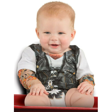 Tattoo Sleeve Romper Costume for Infant