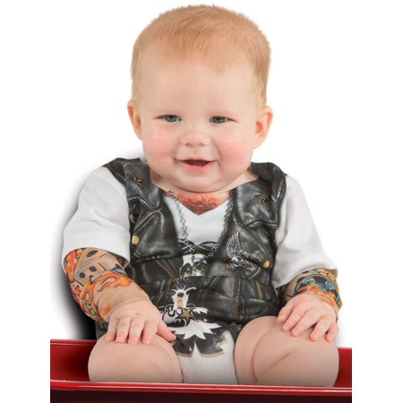 Tattoo Sleeve Romper Costume for Infant - Creative Halloween Customs