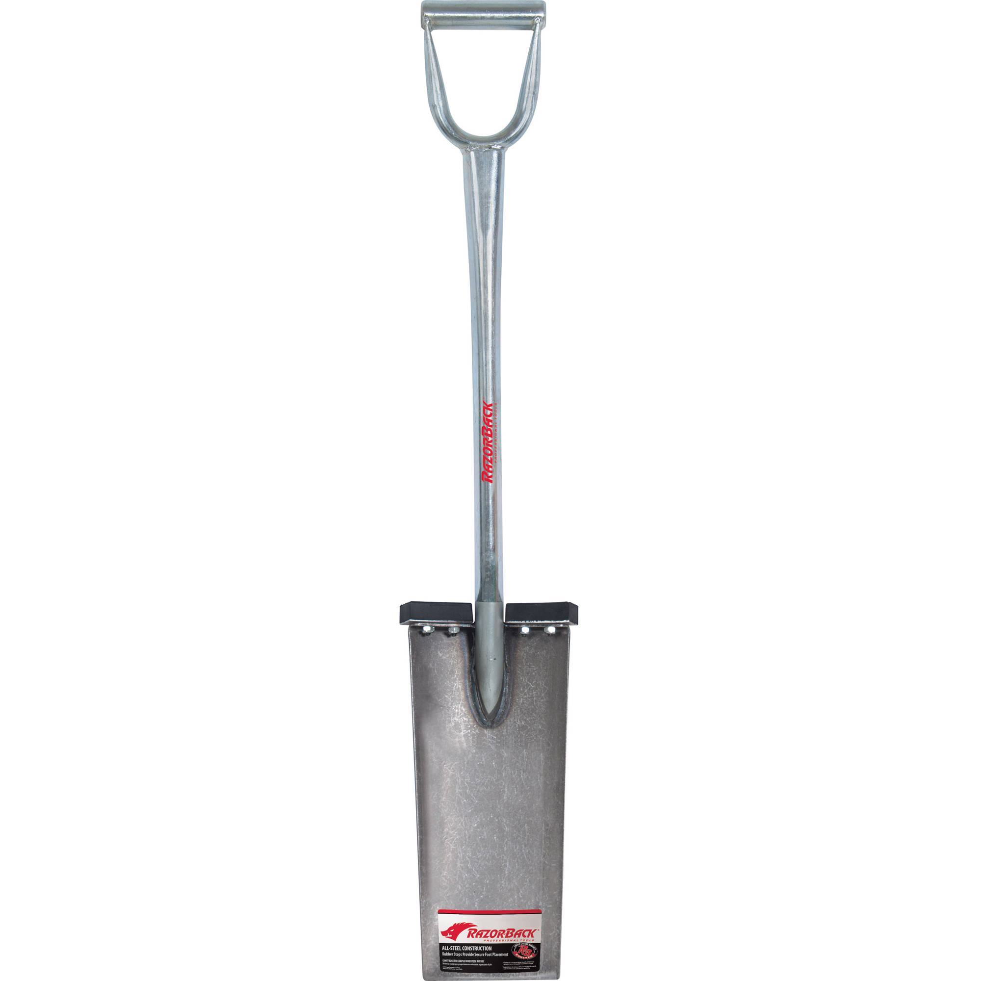 "RazorBack 2451700 15""Landscaper Guide All Steel Spade"