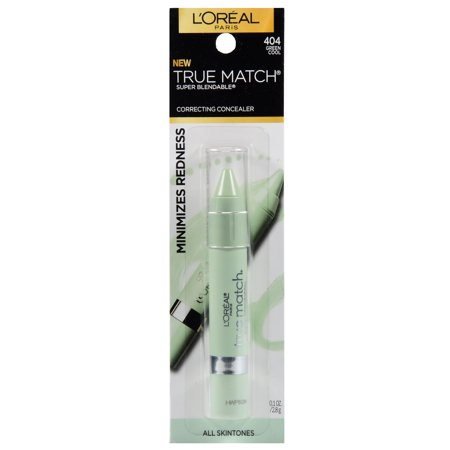 L'Oreal Paris True Match Super Blendable Color Correcting Concealer Green Cool, 0.1