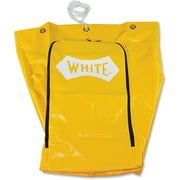 Impact Products 6850 Janitor's Cart Replacement Bag, Yellow, 1 Each (Quantity) by Impact Products