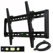 "VideoSecu Tilt TV Wall Mount for Sony Vizio LG Sharp Panasonic 39 40 42 43 46 47 48 50 55 60 65 75"" LCD LED Plasma M33"