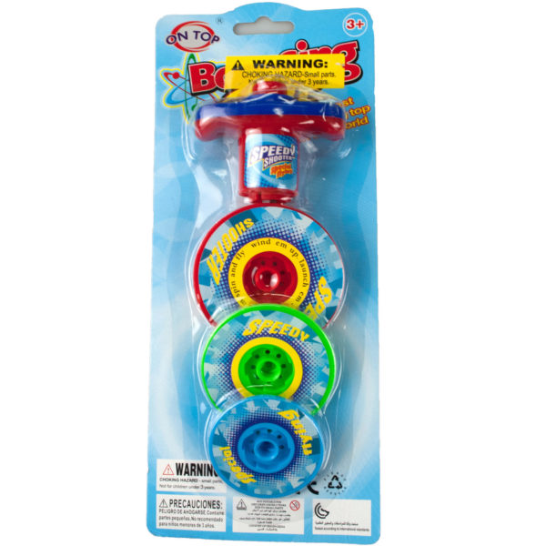 3 Layer Bouncing Top Spinner Toy (Pack Of 12)