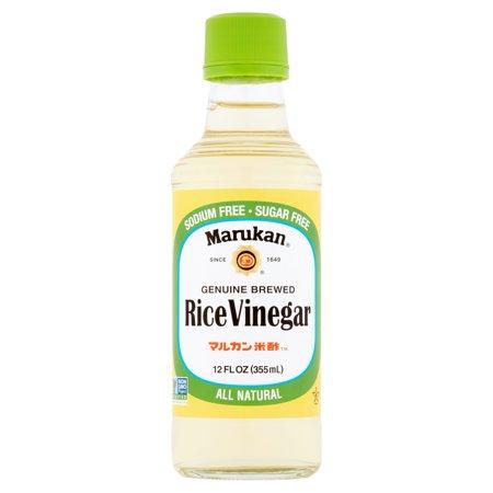 Marukan Genuine Brewed Rice Vinegar  12 Fl Oz