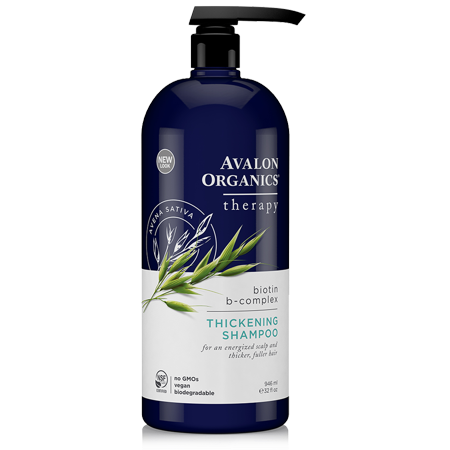 Avalon Organics Thickening Biotin B-Complex Shampoo, 32 Fl (Avalon Rosemary Volumizing Shampoo From Avalon Organics)