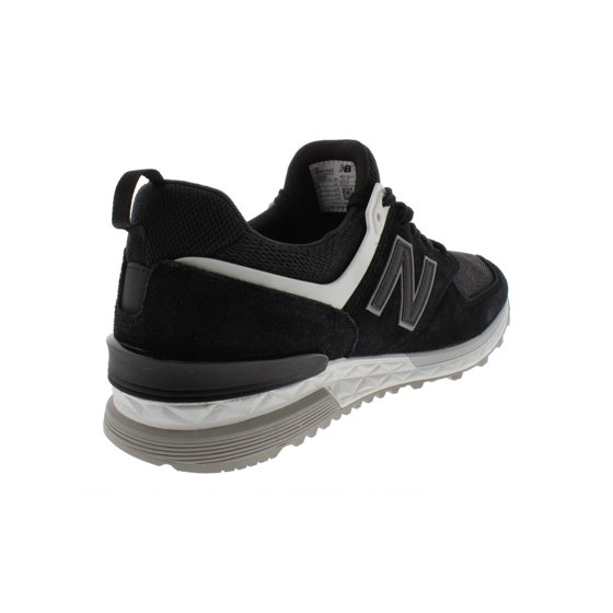 sale ebbdd 6d661 Mens New Balance 574 Fresh Foam Black Grey White MS574CC