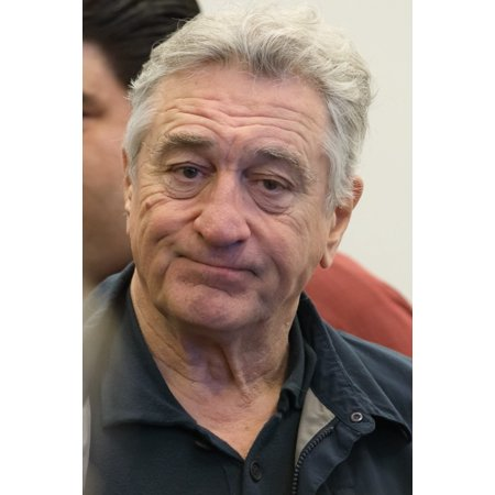 Robert De Niro At The Press Conference For A Bronx Tale The Musical Meet And Greet The New 42Nd Street Inc Studios New York Ny October 21 2016 Photo By Jason SmithEverett Collection