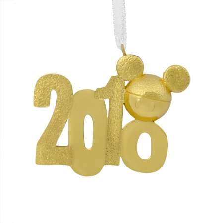 Hallmark Disney Mickey Mouse Icon 2018 Metal Christmas Ornament