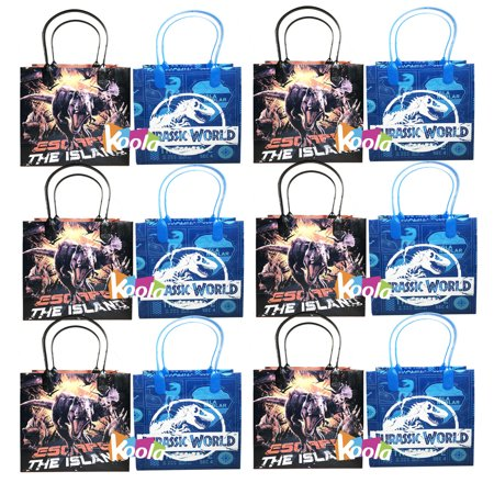Goodie Brand (Jurassic World Party Favor Goody Loot Gifts Candy Bags Assorted 12pcs Mixed)