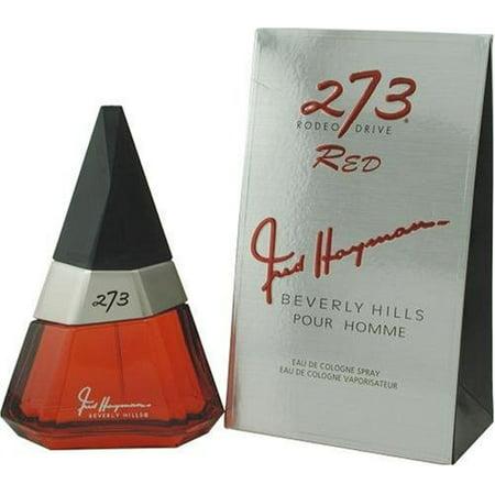 273 Red by Fred Hayman Eau De Cologne Spray 2.5 oz for Men
