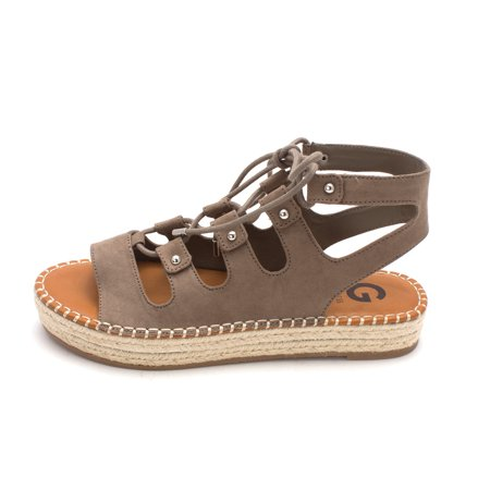52f6204bf9a5 G by Guess - G by Guess Womens Keeny Fabric Open Toe Casual Espadrille  Sandals - Walmart.com