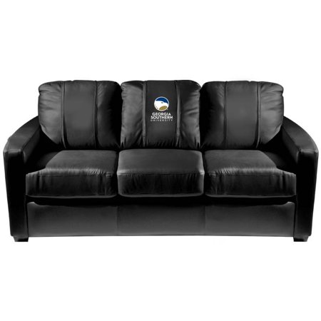 Georgia Couch (Georgia Southern University Collegiate Silver Sofa )