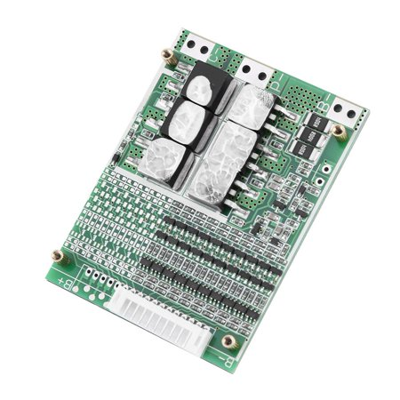 HURRISE 36V 35A 10S Li-ion Battery BMS Protection Board PCB for Ternary Cobalt Cells with Balancing, 10S Protection Board, Protection Board with Balance - image 4 de 7